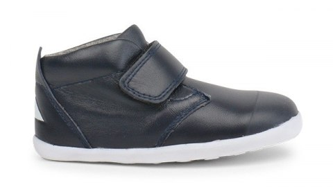 Bobux StepUp Ziggy Hi Top Navy