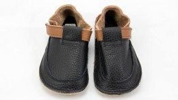 Buty skórzane Baby Bare Shoes Wood