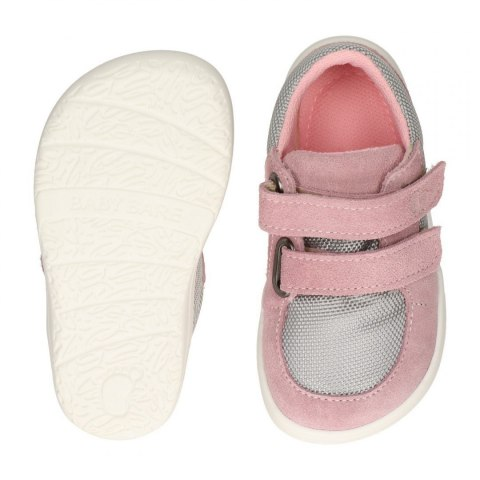 Febo Sneakers Pink Gray Baby Bare Shoes
