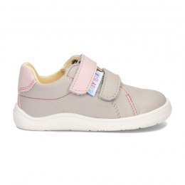Febo Spring Gray/Pink Baby Bare Shoes